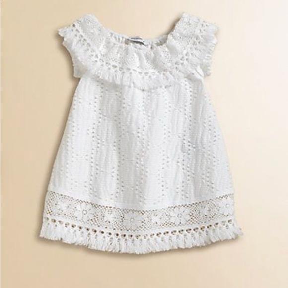 6e2482a6f5 Dolce & Gabbana Other - Dolce & gabbana Baby girl white dress 3-6 crochet